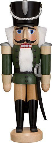 Dregano Husar Green Nutcracker Made in Germany -- Read more  at the image link.