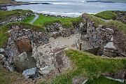 Another view of what was revealed by the storm at Skara Brae