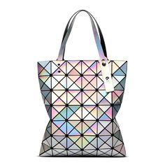 1749269f7f Aliexpress.com   Buy Brand New Baobao Women Pearl Bags Mirror Sac Diamond  Lattice Tote Geometry 6x7 Quilted Shoulder Bag Handbags with Logo and Tags  from ...