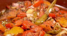 48 de REŢETE DE POST pentru perioada următoare Vegetarian Recipes, Healthy Recipes, Free Recipes, Complete Recipe, Baked Fish, Top 5, Stuffed Green Peppers, Us Foods, Pot Roast