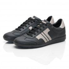 sports shoes 872cf ba325 Tisza Cipő - model Compakt - black   grey