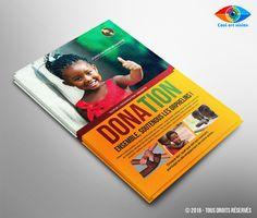 CV / Référence : Flyer donation #0D1  Exemple de flyer de donation. Si vous avez besoin d'un flyer de donation, envoyez moi un mail : Cool.art.vision@g... Suivez-moi sur Facebook : on.fb.me/1ktKIm0