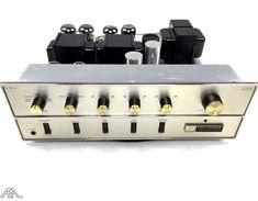 Restored Fisher X-101-D. www.aeaaudio.com #audiophile #tubeamp Custom Consoles, Valve Amplifier, High End Audio, Audiophile, Fisher, Speakers, Gadget, Tube, Headphones