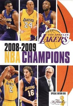 de2282ca9ab NBA  2008-2009 Champions - Los Angeles Lakers  DVD   2009