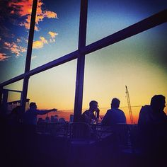 Ever watch the sun set in the #MeatpackingDistrict? #Rooftop