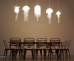 jelly fish lights, maybe this just looks really cool