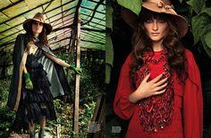'Glorious Disrepair' Iekeliene Stange by Sonny Vandevelde for Karen #12 [Editorial] - Fashion Copious