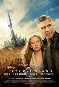 Um filme de Brad Bird com George Clooney, Hugh Laurie : Casey Newton (Britt Robertson) é uma adolescente com enorme curiosidade pela ciência. Um dia, ela encontra um pequeno broche que permite que se transporte automaticamente para uma realidade paralela chamada Tomorrowland, repleta de invenções futurist...