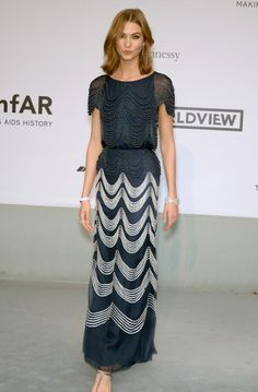 Fabulously Spotted: Karlie Kloss Wearing Chanel Couture - amfAR's 21st Cinema Against AIDS Gala - http://www.becauseiamfabulous.com/2014/05/fabulously-spotted-karlie-kloss-wearing-chanel-couture-amfars-21st-cinema-aids-gala/