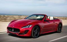 2014 Maserati Convertible Red
