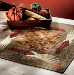 Fall Table Topper-free pattern