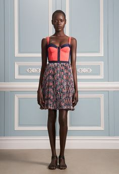Jason Wu Resort 2012 - I'm so in love with this dress. The colours, the pattern, the shape, everything.