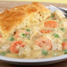 This chicken pot pie recipe is quick and easy.. Chicken Pot Pie Recipe Recipe from Grandmothers Kitchen. Follow us on Pinterest.