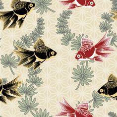 Japanese Textiles, Japanese Patterns, Japanese Prints, Japanese Fabric, Japanese Design, Japanese Art, Textile Patterns, Textile Design, Pretty Patterns
