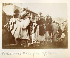 People of Peshawar, 1890s.