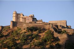 Kumbhalgarh Fort-This 15th century fort was built by Maharaja Khumbha, and comes second only to the fort of Chittorgarh with regard to the significance and grandeur. The walls of the fort are about 36 Kms in distance, making it the second longest wall in the world, after the Great Wall of China.