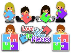 I Love You To Pieces by ScrappyDew.com