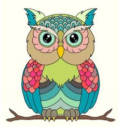 owl (132 pieces)
