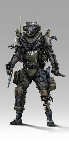Futuristic Armour, Futuristic Art, Character Concept, Character Design, Rpg Cyberpunk, Combat Armor, Sci Fi Armor, Future Soldier, Super Soldier
