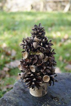 Decorative tree.  Eсo-styl.  Сhoinkа . Eko-styl. Mój pomysł. Moja praca, moje zdjęcia. Dekorative Weihnachtsbaum. Meine Idee, mein Job, mein Foto. Декоративная елка. Эко-стиль. Моя работа, моя идея, моё фото