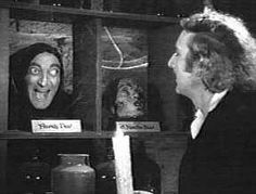 young frankenstein. hilarious and probably the clostest to the original themes of the novel as any Hollywood production of the classic
