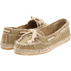 Espadrille/Boat Shoe/Mocs  [everything, in one shoe]