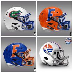 Florida Gators New Football Helmets Football Helmet Design, College Football Helmets, Best Football Team, Football Uniforms, Sport Football, Florida Gators Logo, Florida Gators Football, Florida Gators Wallpaper, Lsu