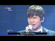 K.Will - To Heaven (2013.06.01) [Music Bank w/ Eng Lyrics] - YouTube