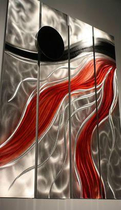 metall wall art