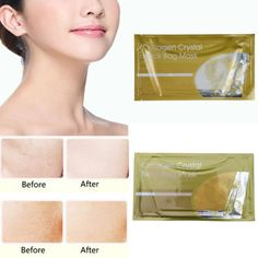 New Collagen Crystal Neck Bag Mask Whitening Anti-Aging Wrinkle Moisture Mask X1
