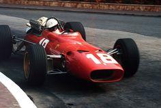 Lorenzo Bandini (Ferrari Grand Prix de Monaco 1967 - source Carros e Pilotos. Monte Carlo, Ferrari Scuderia, Ferrari F1, Lorenzo Bandini, Race Engines, Monaco Grand Prix, Car Images, F1 Racing, Indy Cars