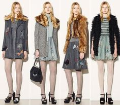 RED Valentino Fall/Winter 2015-2016 Collection - New York Fashion Week - Fashionisers