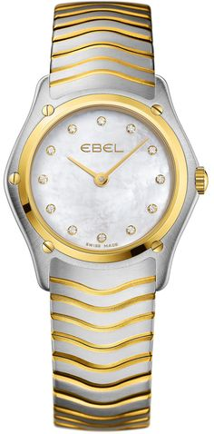 Ebel Watch Wave Lady #battery-3-year-battery-guarantee #bezel-fixed #bracelet-strap-gold #brand-ebel #case-material-yellow-white-gold #case-width-27-30mm #delivery-timescale-4-7-days #dial-colour-white #gender-ladies #luxury #movement-quartz-battery #official-stockist-for-ebel-watches #packaging-ebel-watch-packaging #subcat-wave #supplier-model-no-1215371 #warranty-ebel-official-3-year-guarantee #water-resistant-50m