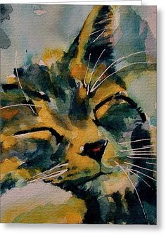 Weeeeeee Sleepee Greeting Card by Paul Lovering