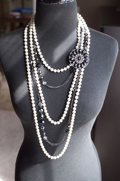 Opening Night with Downtown and Crochet pin by TheBlingTeam, via Flickr. Premier Designs Jewelry Carolyn Popp
