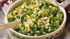 The Fast Metabolism Diet Phase 2 Recipe: Spicy Bean and Cucumber Salad. A simple, delicious, healthy and cooled/chilled recipe to enjoy during Phase 2 dieting.