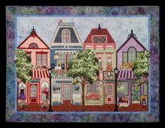 The Painted Ladies Series  by Sue Pritt & Sweet Seasons Quilts