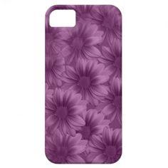 Layered Purple Gerbera Daisies iPhone 5 Covers