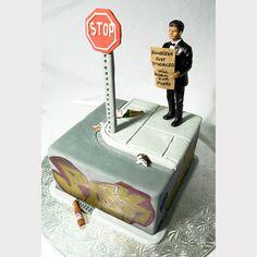 24 divertidísimos pasteles de divorcio que son incluso mejores que los pasteles de boda