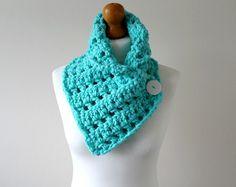 INSTANT DOWNLOAD Crochet Cowl Pattern Womens Cowl por FreyaEsme