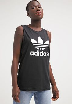 adidas Originals Vest - black for £10.99 (07/07/17) with free delivery at Zalando