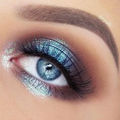 Drop-dead gorgeous eye makeup idea