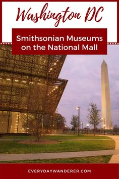 A complete guide to the Smithsonian Institution Museums on the National Mall in Washington DC | Smithsonian Institution | Smithsonian Museum | Smithsonian Museum Exhibitions | DC | Washington DC | Washington DC Things to Do In | Washington DC with Kids | Smithsonian Museum Washington DC | Smithsonian Museum of American History | Washington DC Trip | Washington DC Travel | Washington DC Vacation | Smithsonian Museum of Natural History | Washington DC Photography | #DC #WashingtonDC #USTravel…