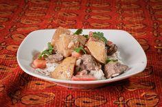 Saha Slow-Cooker Massaman Lamb Curry.  Made using Saha International Cuisine's Thai Massaman Curry Base.  Full recipe available: http://www.sahacuisine.com/recipes/slow-cooker-massaman-lamb-curry/