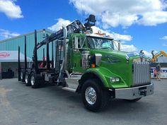 Semitrckn — 2016 Kenworth custom T800 log hauler