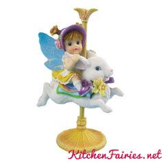 Spring Carousel Fairie - From Series Thirty of the My Little Kitchen Fairies collection