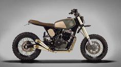 ton-up garage muxima honda FMX 650 custom motorcycle