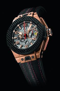 Hublot Big Bang Ferrari King Gold Carbon Watch