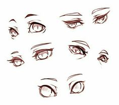 Drawing Reference Poses, Drawing Poses, Drawing Tips, Hand Reference, Drawing Ideas, Eye Drawing Tutorials, Drawing Techniques, Painting Tutorials, How To Draw Anime Eyes