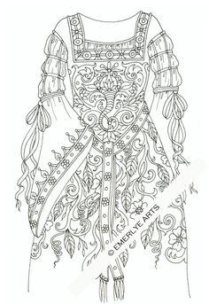 130821+Medieval+gown+WMKweb.jpg (412×600)